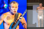 Naháč Flea z Red Hot Chili Peppers: Na balkoně vystavil svoji papričku