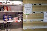"""""""Jak přežít bez másla?"""" Obchody jsou prázdné, ve Francii zuří lidé i pekaři"""