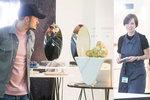 Orlando Bloom na Designbloku: Brouzdal mezi návrháři a zkoumal fotky Blesku