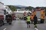 Při nehodě českého vozu u Norimberka zemřela žena: Mezi zraněnými jsou i děti