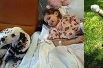 Emmu (5) přejel otec sekačkou na trávu, dívka přišla o obě nohy