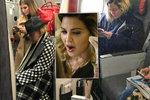 Vyčerpaná Madonna (59) usnula na kufrech od Vuittona: Miliardářka v turistické třídě!