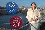 Počasí s Honsovou: O víkendu bude kolem nuly. Čekejte sníh a déšť