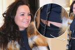 Čvančarová neopatrným pohybem ukázala bříško! Je opravdu těhotná?