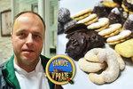 Cukrář Martin z Prahy: Loni jsem vyrobil na tři tuny cukroví. I letos je zájem velký, drahé máslo zákazníky neodradilo