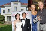 Vila Adamcových za 100 milionů na prodej: Zájem Jolie a Pitta! Režisér je ale vyhnal