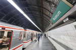 """""""Áčko"""" na Muzeu o víkendu nestaví. Stanici uzavřela rekonstrukce, metro jen projíždí"""