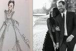 Zásnubní šaty Meghan Markle stály 1,7 milionu! Jaké budou ty svatební?