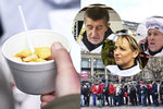 Tři tisíce porcí rybí polévky: Pražany ve frontách obsluhoval Babiš, Krnáčová a Lomecký