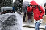 Na východě Česka pozor na ledovku, varují meteorologové řidiče i chodce