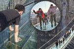 Nic pro bojácné! V Číně otevřeli nejdelší skleněný most na světě