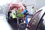 U Vranovic se čelně srazila dvě auta: Tři lidé utrpěli zranění