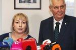 Bude první dámou opět Ivana Zemanová? Šedá myška se zbrojním pasem, která si hlídá soukromí