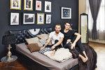 Vášnivé hrátky s módou! Stylový domov pro dva muže
