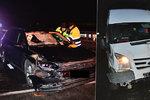 Smrtelná nehoda na D11: Řidič po nehodě přebíhal dálnici, smetlo ho jiné auto