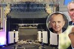 Debata Drahoš vs. Zeman: Prima dělala bezpečnostní manévry, kandidáti byli na vodě