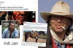 Farmář indián Honza Pokorný: Dva dny před sebevraždou u něj zasahovala policie