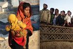 Chlapce narozeného mezi uprchlíky nikdy neviděl doktor. Dětí v táborech přibývá