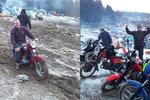 Elefanti se brodili bahnem: Na motorkářský sraz v Bavorsku přijely i stovky Čechů!