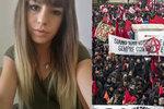 Vražda Pamely (†18) a střelba po migrantech vyvolala protesty. Davy lidí odmítají rasismus