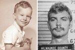 Jeffrey Lionel Dahmer, jinak nechvalně známý jako kanibal z Milwaukee. Všimněte si, jak drží koťátko. V dětství ho prý těšil pohled na mrtvá nebo usmrcená zvířata.