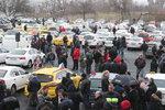 Taxikáři: V protestech budeme pokračovat! Rok na schválení komplexní novely čekat nechtějí