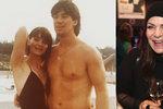 Anna K. zveřejnila foto svého prvního kluka, svalovce jménem Mirek
