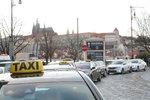 Neskončilo to: Taxikáři chystají v Praze největší protest. Má jít o tvrdou blokádu ulic