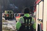 Muže v Psárech u Prahy zavalil strom. Záchranáři ho oživovali, u nehody byli jeho příbuzní