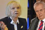 Zeman nebrojí proti holokaustu, tvrdí aktivisté. A tepou ministerstvo za poklonky Asadovi