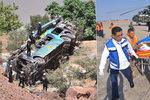 Tragická cesta malých fotbalistů: Autobus se zřítil do propasti, sedm mrtvých