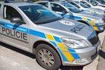 Nehoda policistů v Záběhlicích: Srazili se s nákladním vozem, k zásahu nejeli