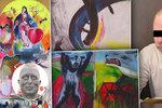 Soud s kastelánem, který měl zničit 58 obrazů: Výtvarník Franz chce 600 tisíc korun