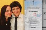 Různá data smrti na parte Kuciaka (†27) a jeho snoubenky! 5 záhad v případu vraždy novináře