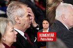 Komentář: Zemanova druhá pětiletka bude bolet. I Klause zle tlačilo křeslo