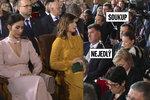 Alex vedle dcery Kateřiny a Soukup s Hrdličkou před generály. Forejt sepsul inauguraci