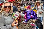 Celebrity na Matějské pouti: Poprvé létám na slonovi, jásala Borhyová