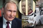 """Může za otravu Moskva? Putin se směje. """"Nejdřív zjistěte, co se stalo,"""" vyzval Mayovou"""