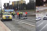 Smetl na přechodu v Hostivaři čtyři lidi, dva zemřeli: Řidiče (68) chce policie obžalovat