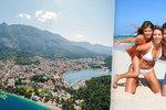 Makarská riviéra v Chorvatsku: 60 kilometrů pláží s horami v zádech