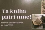 """Ráj pro bibliofily: Národní muzeum vystavuje vzácné ex libris, umělecké """"knižní značky"""""""