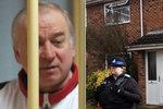 Skripala s dcerou otrávili u dveří jejich domu, tvrdí nově britská policie