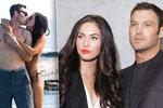 Hvězda Beverly Hills s krásnou manželkou Megan Fox: Nejdřív rozchod, teď mazlení na pláži!
