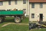 Rychlé řešení černé skládky v Rohatcích: Odpad dovezli majiteli před dům!