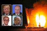 Klaus ml. peskuje šílence za úder v Sýrii, Trump tleská misi proti monstru