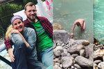 Vendula Pizingerová se podělila o nahé tělo svého mladého manžela