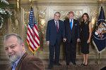 Zeman má u Trumpa dveře zavřené i kvůli Babišově vládě v demisi, udeřil Kmoníček