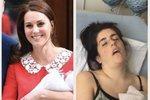 Začátkem týdne vévodkyně Kate porodila třetí královské dítě. Jak už to bývá zvykem, pár hodin po porodu děťátko ukázala veřejnosti a u toho vypadala zase fantasticky! Na to se rozhodly reagovat obyčejné matky, které ukázaly, jak vypadá realita!