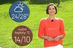 Počasí s Honsovou na víkend, čarodějnice i 1. máje. Kdy teplo překazí bouřky?