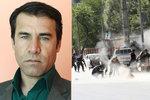 Fotil řádění sebevražedného atentátníka. Zabil ho další odpálený muž